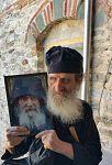 Старец Исидор из монастыря Филофей