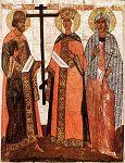 Части Честного Креста, кровь и волосы Спасителя