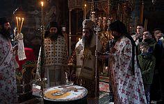 Престольный праздник в монастыре Хиландар