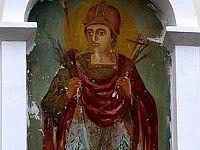 Фреска в молдавском монастыре изменяется чудесным образом