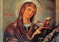 Уникальная икона Богородицы c острова Липси
