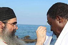 Как африканский король крестился на Афоне