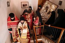 Праздник в монастыре Ватопед