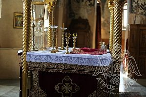 Храм Протат | Athos Guide
