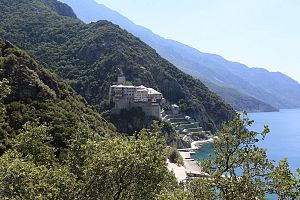 Монастырь Дионисат | Athos Guide