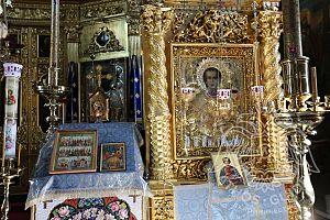 Икона Святого Пантелеймона | Athos Guide