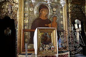 Икона Божей Матери Всецарица | Athos Guide