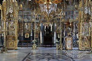 Центральный храм монастыря Ксенофонд