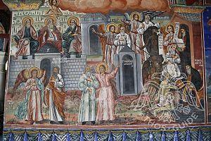 Фрески монастыря Зограф