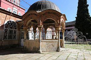Купель на территории монастыря