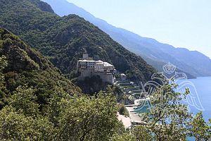 Вид на монастырь Дионисиат