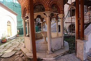 Купель монастыря