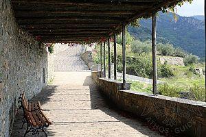 Терраса монастыря