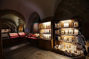 Иконы в монастыре Иверон