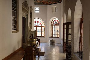 Внутренние помещения монастыря