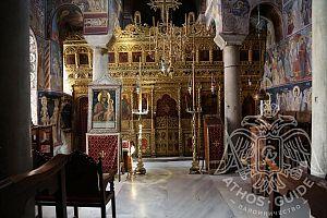 Придел Дмитрия Солунского Монастырь Ватопед