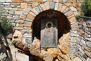 Источник Георгия Победаносца монастырь Ксенофонд