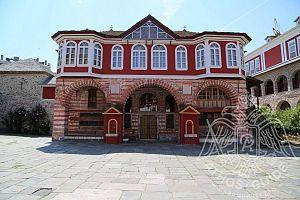 Трапезная монастыря Ватопед