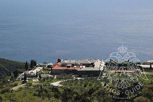 Панорамный вид на монастырь