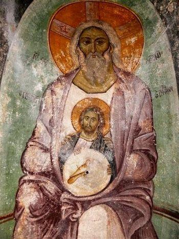 Уникальное изображение Святой Троицы