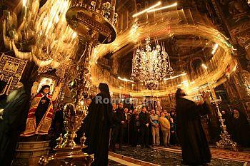 Празднование  дня Преподобного Евдокима в монастыре Ватопед