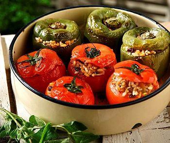 Рецепты Афона: Фаршированные перцы