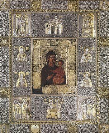 Празднование дня чудотворной иконы Богородицы Елеоточивой