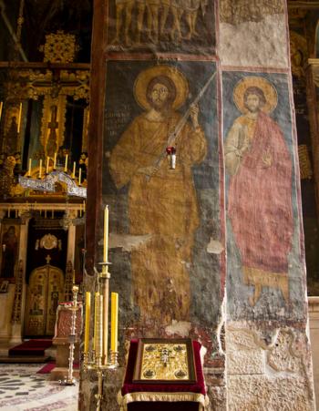 В Косово было обнаружено одно из редчайших изображений Иисуса Христа