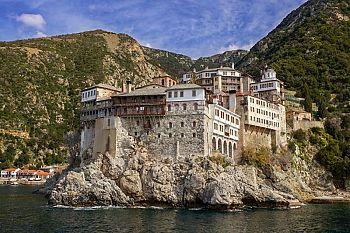 Мощи греческого монастыря на Афоне