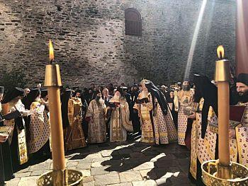Торжество Православия в монастыре Ватопед на Святой Горе
