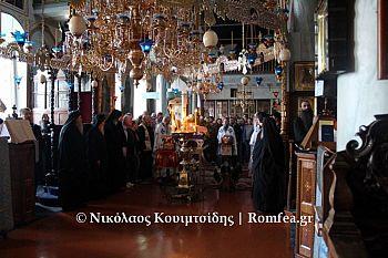 Праздник Покрова Пресвятой Богородицы в монастыре Святого Пантелеймона