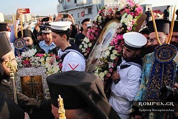 В Салоники прибыли святыни из Иерусалима