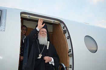 Вселенский Патриарх прибыл в Салоники