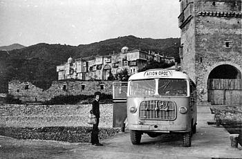 Уникальные фото: Афон 70х годов XX века
