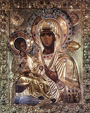 Богородица Троеручица: история и молитва чудотворной иконе