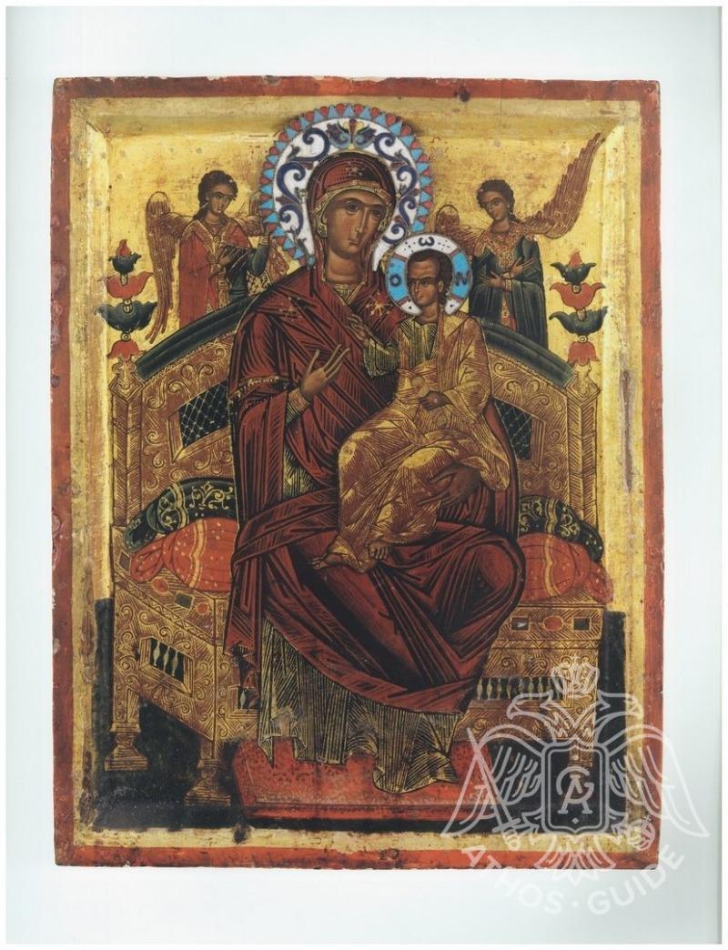 Богородица Всецарица — икона, помогающая в борьбе с раком