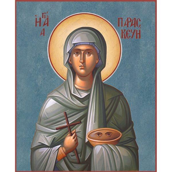 Святая Параскева: почему святая изображается с глазами на подносе