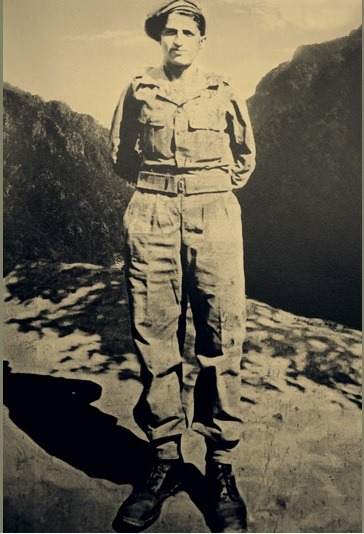 Редчайшее фото молодого Святого Паисия в армии