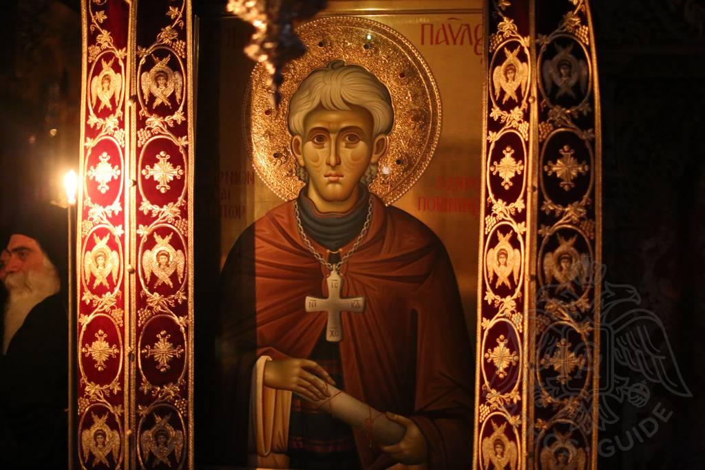 Икона Св. Павла на Афоне