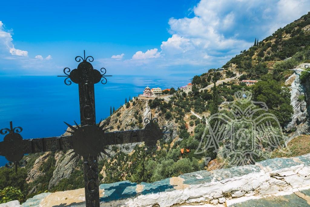 Крест на Афоне