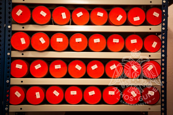 Чехлы для хранения документов в архиве
