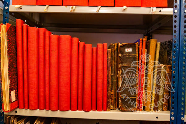 Книги и журналы в архиве