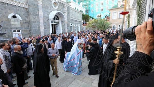 Праздник Св. Пантелеймона на Афоне