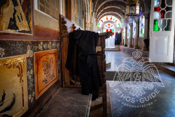 Фрески монастыря Великой Лавры