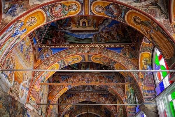 Фрески притвора Великой Лавры