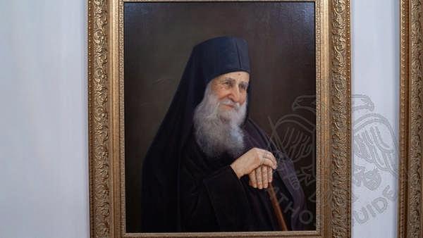 Ватопед: портрет Иосифа Ватопедского
