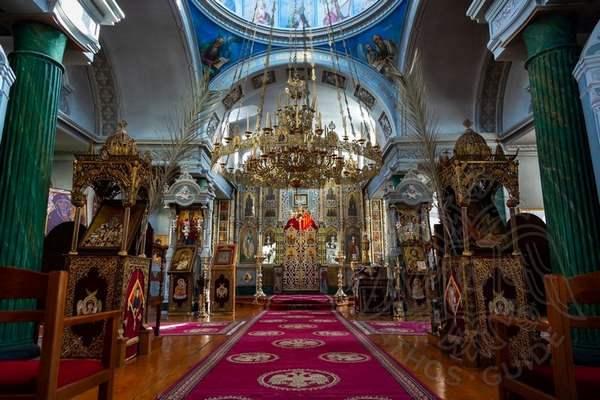 Храм скита Апостола Андрея