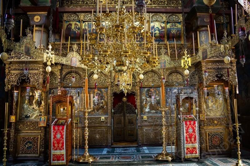 Хиландар, попская чудотворная икона Богородицы