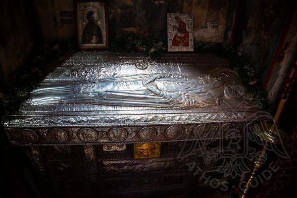Рака Симеона Сербского, монастырь Хиландар