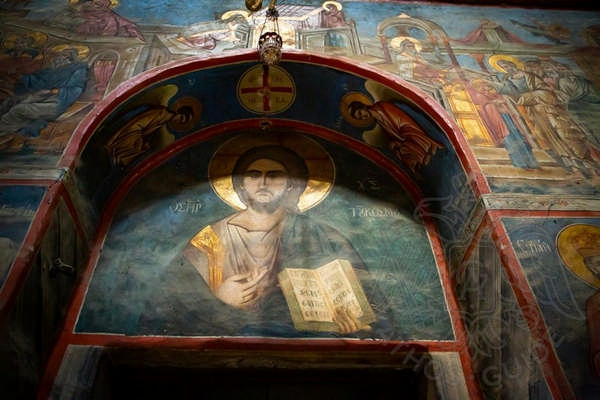 Фрески монастыря Хиландар